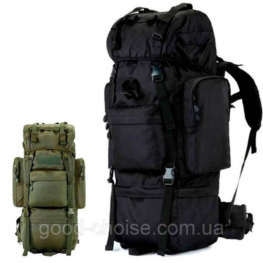 Армейский рюкзак + Подарок / 65л Oxford 600D - штурмовой (70х40х25 см)
