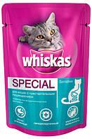 Консерва для чувствительных кошек Whiskas Special Sensitive