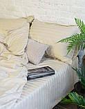 Постельное белье Viluta Сатин Страйп 72 Евро SKL53-240050, фото 2