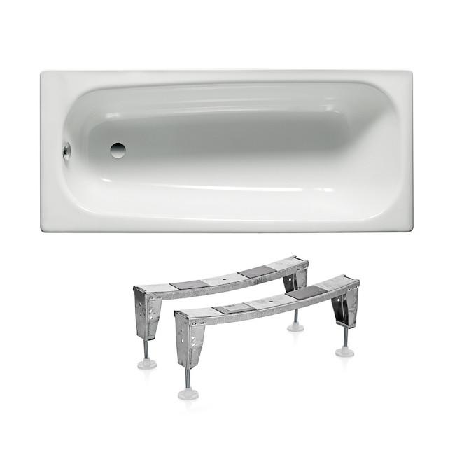 Roca CONTESA ванна 150*70 см, прямоугольная, с ножками,