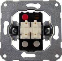 Механизм выключателя 2-клавишног универсального с винтовыми клеммами hager.polo