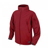 Куртка Helikon-Tex® GUNFIGHTER - Shark Skin Windblocker Crimson Sky, фото 1
