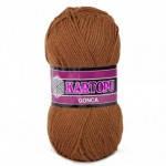 Пряжа для вязания Гонка KARTOPU коричневый 882