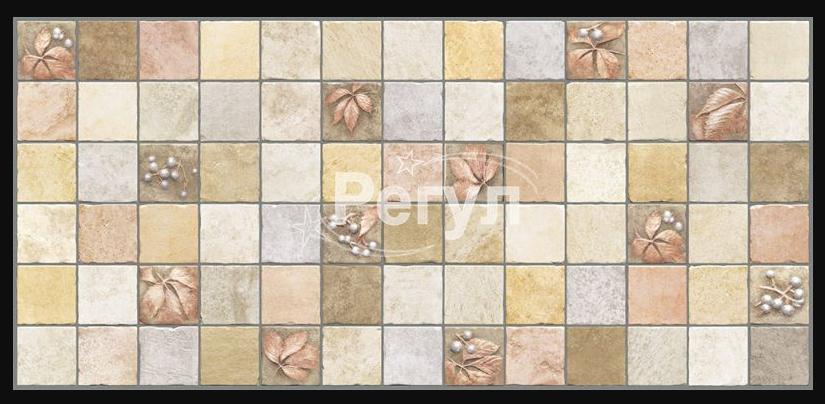 Листовая панель ПВХ на стену Регул, Микс (Осенний)