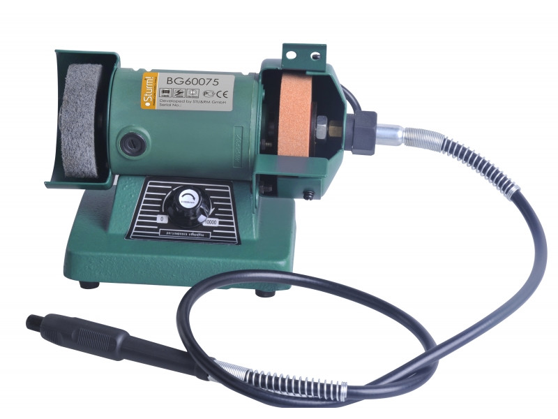 Точильный станок - гравер Sturm 75 мм, 140 Вт BG60075 / 24 месяца гарантия