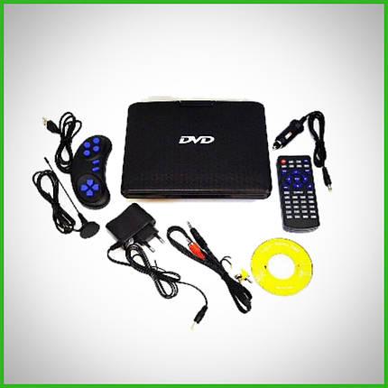 """Портативний DVD телевізор Opera 9,8 . Т2 """" EVD NS-958 + USB + SD з джойстиком, фото 2"""