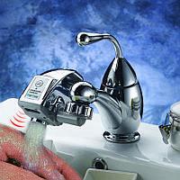 Сенсорная насадка на кран для экономии воды