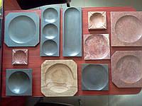 Тарелки из камня для ресторанов