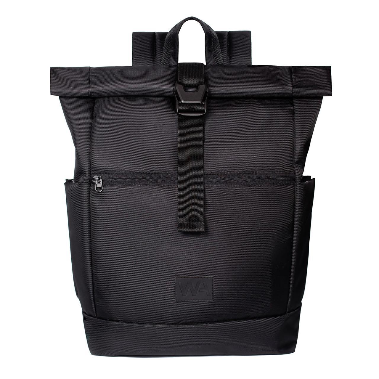 Городской рюкзак для ноутбука Wasco Rick Roll Черный