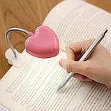 Светильник для чтения с зажимом на гибкой ножке, фото 2