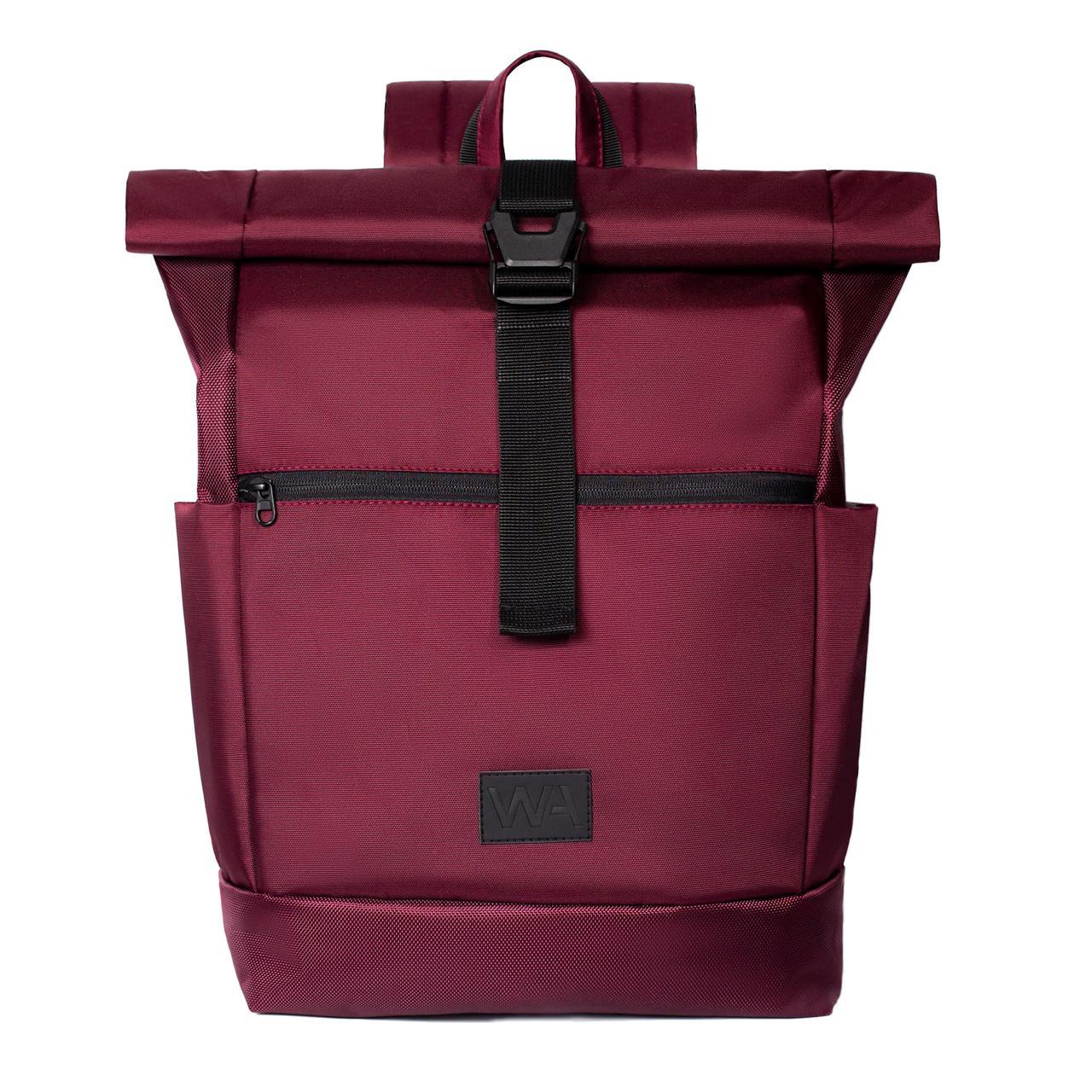 Городской рюкзак для ноутбука Wasco Rick Roll Бордо