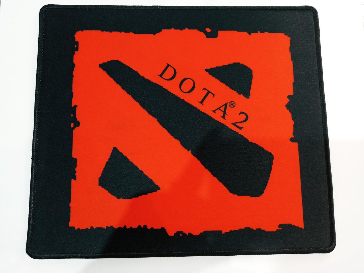 """Коврик для мышки """"Dota 2"""" 200х240 мм. Черный+Красный"""