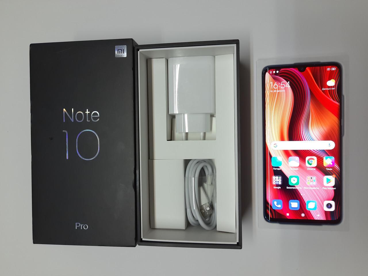 Xiaomi Mi Note 10 Pro Aurora Green 8/256 в состоянии НОВОГО телефона #664BP