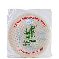 Папір рисовий для спрінг-ролів 33 аркуша (+/- 3шт) 22 см BANH TRANG MY THO Tufoco 340 г