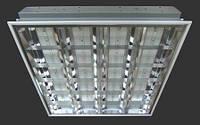 Светильник светодиодный торгово - офисный LED-SH-600-4*8