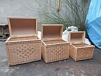 Ящики для белья из лозы