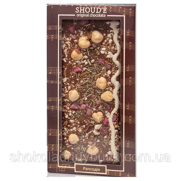 Шоколад ручной роботы SHOUD`E MELODY Рапсодия 100г