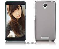 TPU чехол для Xiaomi Redmi Note 2 серый, фото 1