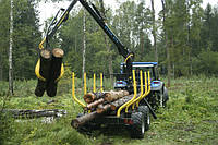 Кран-манипулятор лесной Oniar 67S