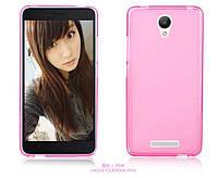 TPU чехол для Xiaomi Redmi Note 2 розовый, фото 1