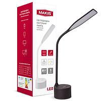 Настільна лампа MAXUS DKL 8W 3000-5700K BL Sound