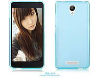 TPU чехол для Xiaomi Redmi Note 2 голубой