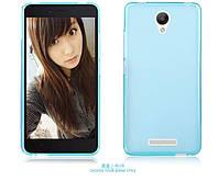 TPU чехол для Xiaomi Redmi Note 2 голубой, фото 1