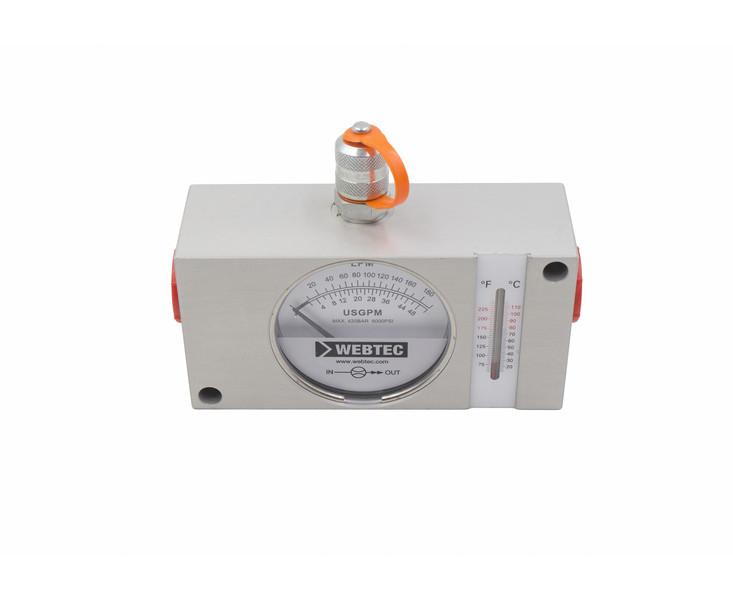 Гидравлический расходомер Webtec (10-180 л/мин)