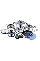 Набор посуды ROYAL SWISS 16-TEILIGES HOCHWERTIGES 18/10 из Германии, фото 1