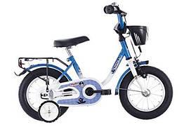 Дитячий велосипед Vermont Privacy 12 Zoll wei/blau з Німеччини
