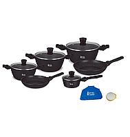 Набор посуды ROYAL SWISS  12 PSC (черный)
