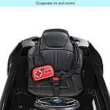 Электромобиль JE 1001 EBLR БМВ BMW i8, Черный, фото 4