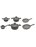Набор посуды Royal Swiss 11 PSC серый