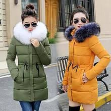 Жіночі зимові куртки і пуховики