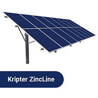 Комплект оцинкованного крепления PV модулей ZincLine Bifacial 52, фото 1
