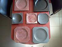 Тарелки из натурального камня, каменная посуда