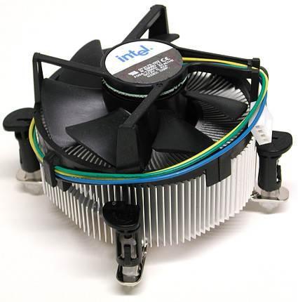 Система охлаждения Intel s775 socket 775 4pin б/у