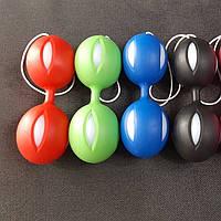 Вагінальні кульки зі зміщеним центром ваги червоний