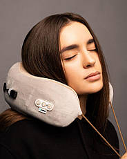 Массажная подушка для шеи Gelius Smart Pillow Massager GP-PM001- Новинка, фото 3