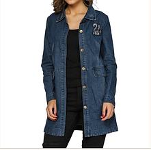 Джинсова курточка жіноча AL-7612-00