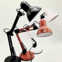 Настольная лампа для мастера маникюра на стубцине белая