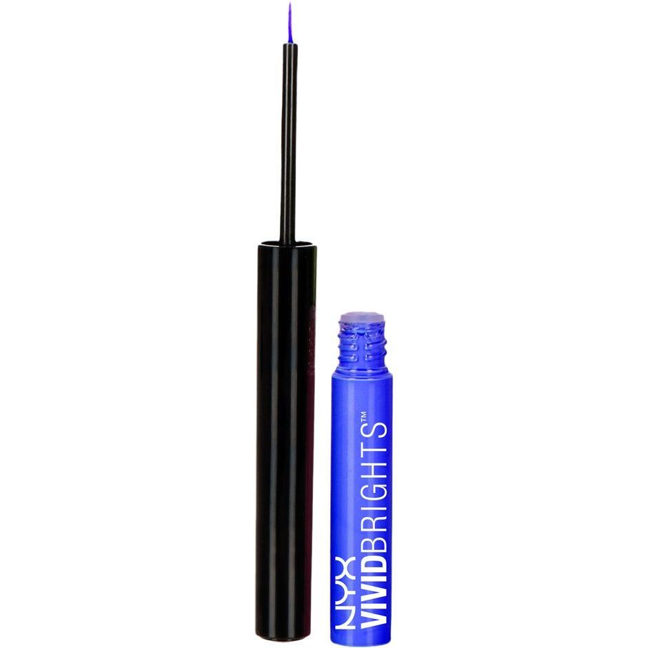 Жидкая подводка NYX Professional Makeup Vivid Brights Liquid Eyeliner Vivid Sapphire