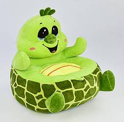 Мягкое кресло Черепаха С 31195 зеленый 70590
