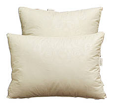 "Одеяло лебяжий пух ""Бежевое"" 1.5-спальное + 2 подушки 70х70, фото 3"