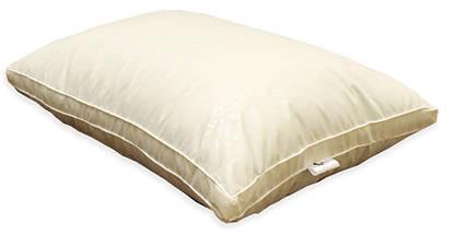 "Одеяло лебяжий пух ""Бежевое"" 1.5-спальное + 2 подушки 70х70, фото 2"