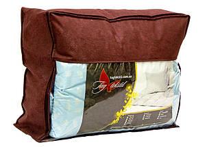 """Одеяло лебяжий пух """"Бежевое"""" евро + 2 подушки 70х70, фото 3"""