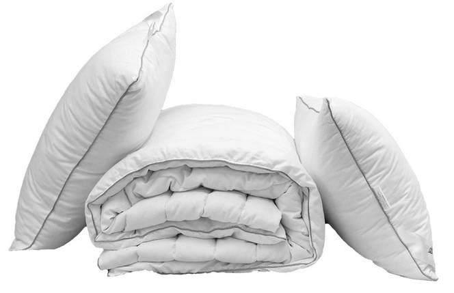 "Одеяло ""Eco-2"" евро + 2 подушки 70х70, фото 2"