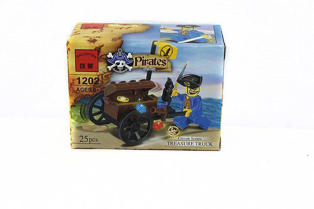 """Конструктор """"Пираты"""" ENLIGHTEN, фото 2"""