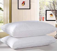 Подушка Белая с бортом 50х70