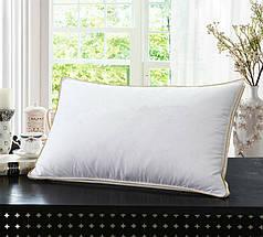 Подушка Белая с бортом 70х70, фото 3